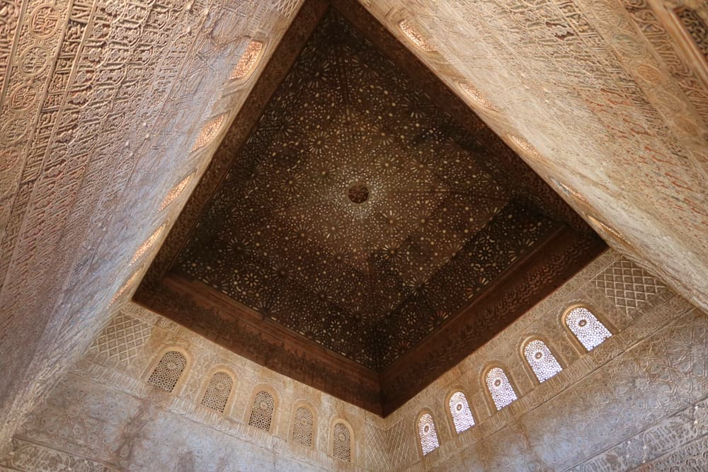Ceiling of the Hall of the Ambassadors, Alhambra
