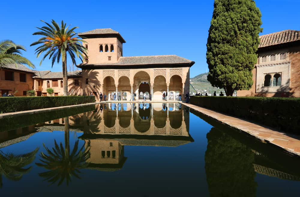 the Partal at the Alhambra, Granada