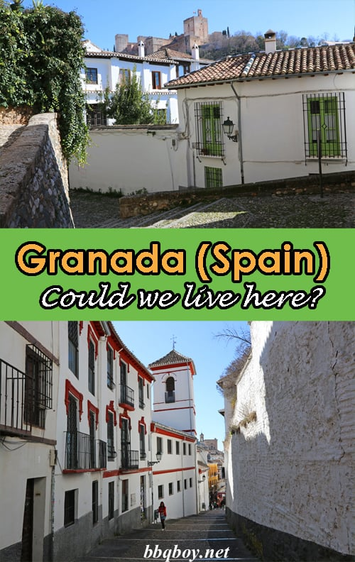 Granada (Spain) as an expat – could we live here?