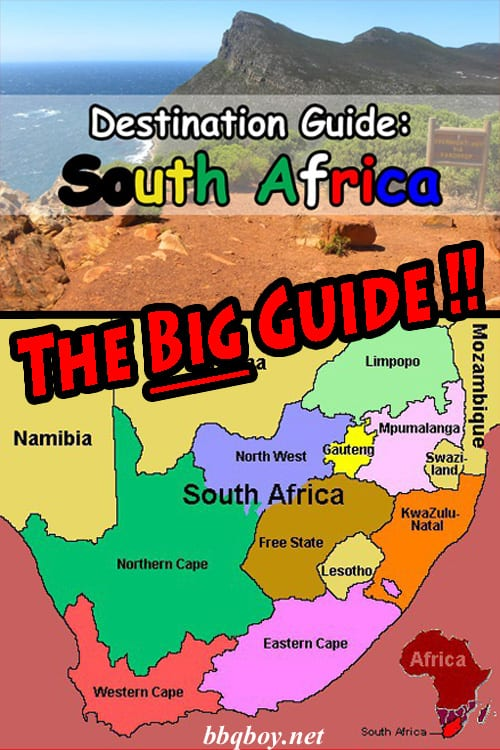 The most detailed FREE Travel Guide to South Africa on the internet
