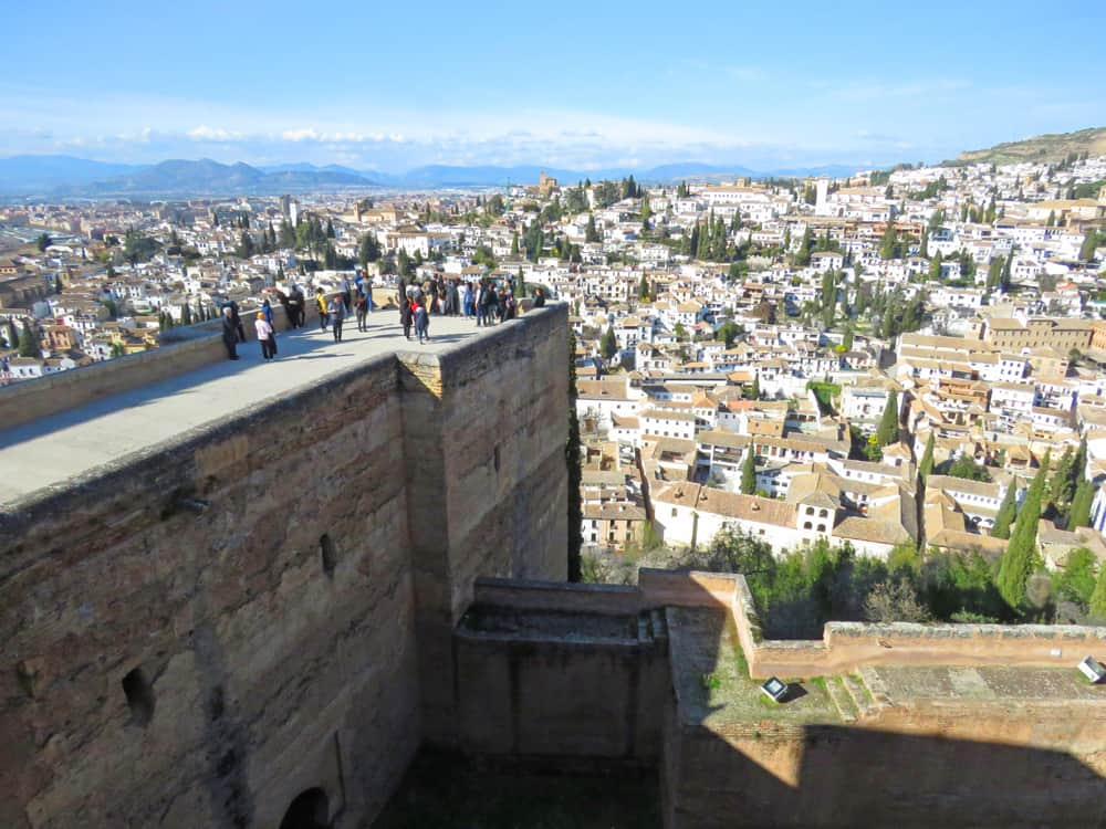 Views over Granada, Spain