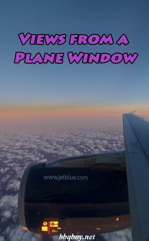 Views From A Plane Window