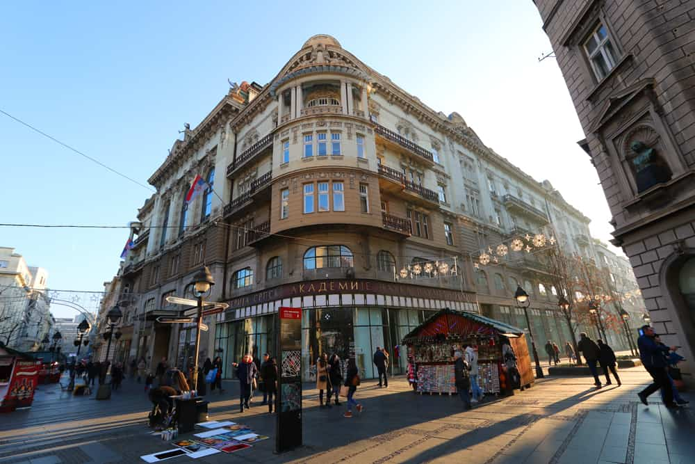 building on Knez Mihailova. 27 Pictures that will inspire you to visit Belgrade