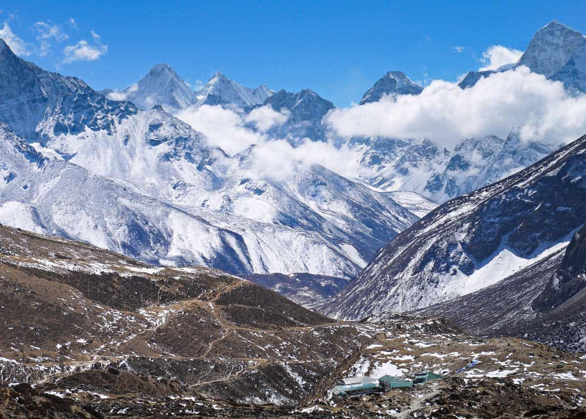 everest base camp. Favorite hikes around the world