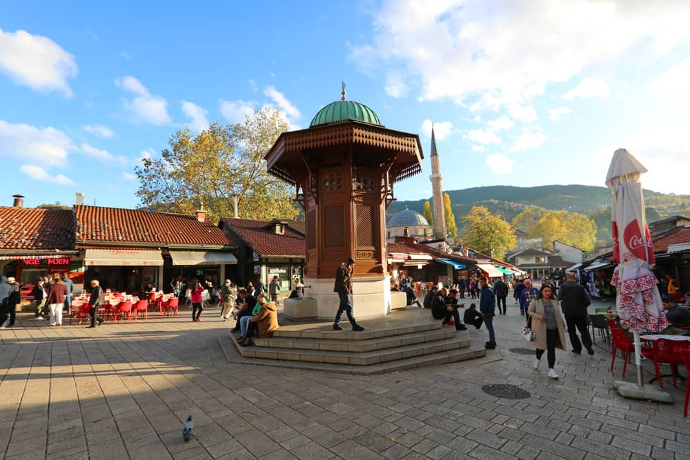 Pigeon Square. A Guide to Sarajevo – and all the reasons why it's worth visiting