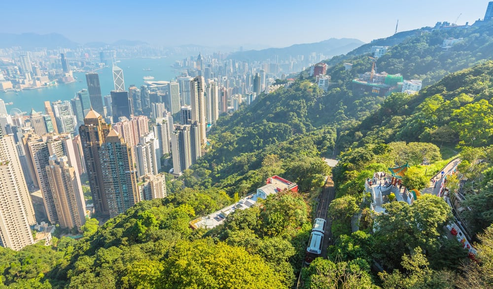 Top hiking trails in Hong Kong