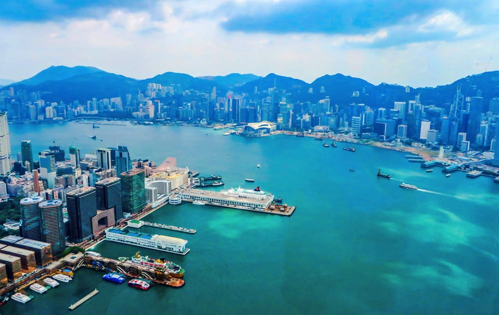 Sky100 hong kong views