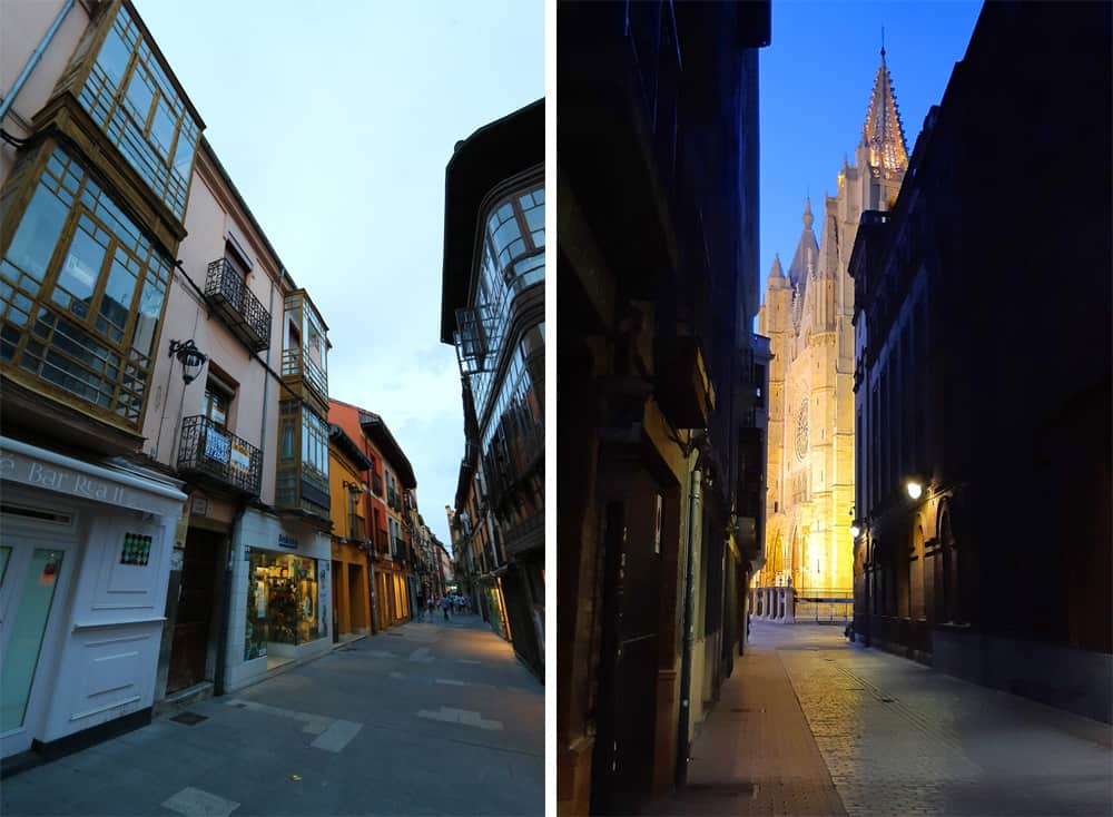 The Streets of León (Spain)