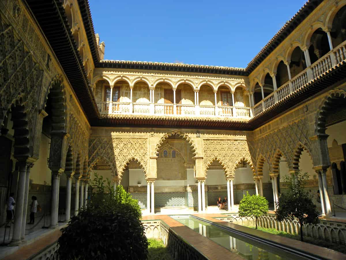 The Courtyard of the Maidens, Real Alcazar