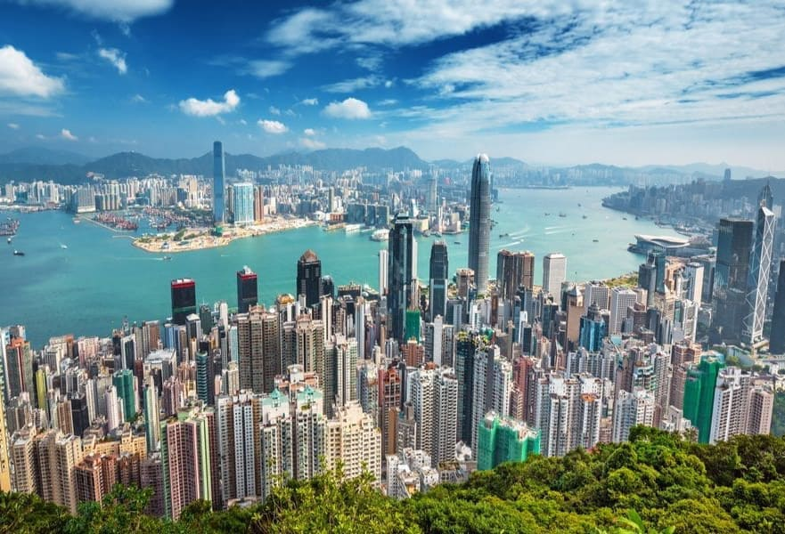 Hong Kong rating among most beautiful cities