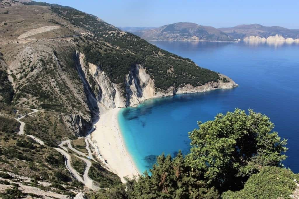 Kefalonia. the largest of the Ionian islands