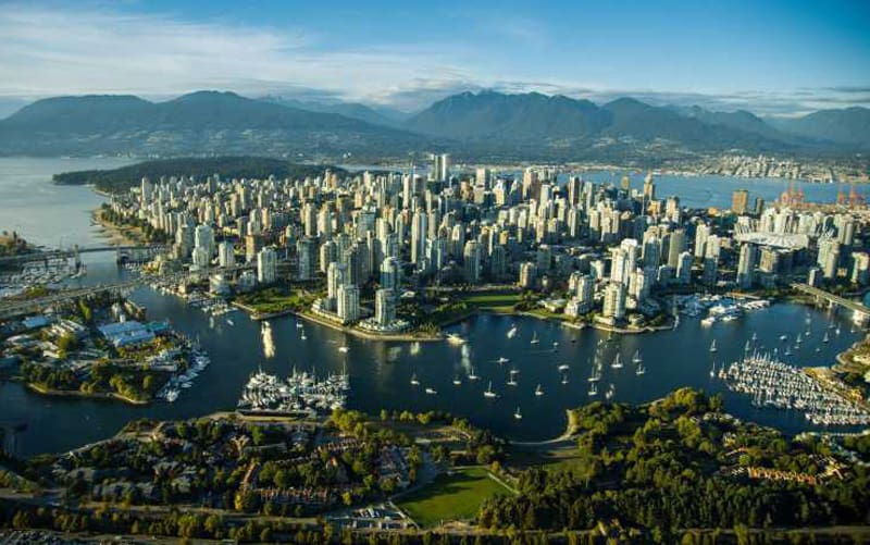 beautiful Vancouver Canada. One of the most beautiful cities?