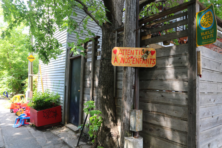 The best Green Alleys on the Plateau Mont-Royal (2020)
