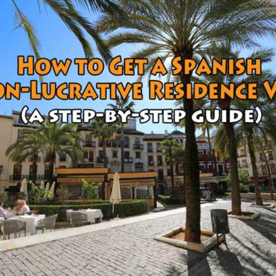 how to get a spanish non-lucrative visa