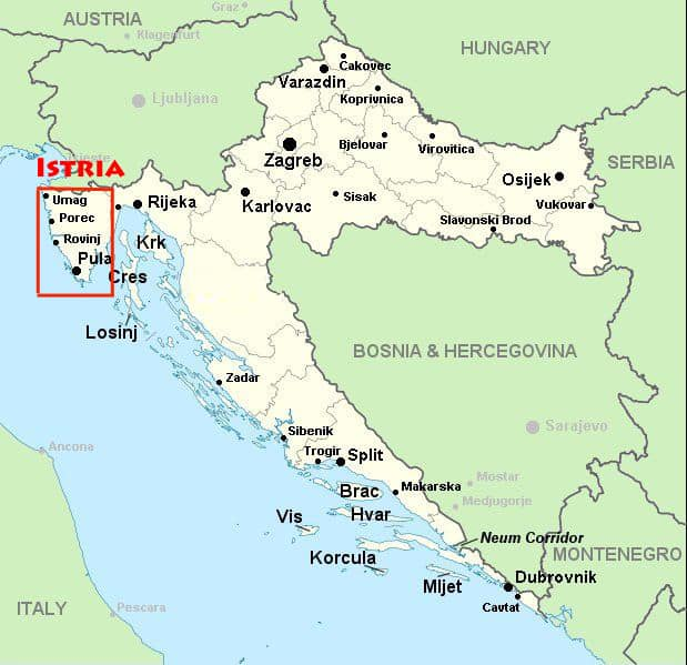 Where is Istria?