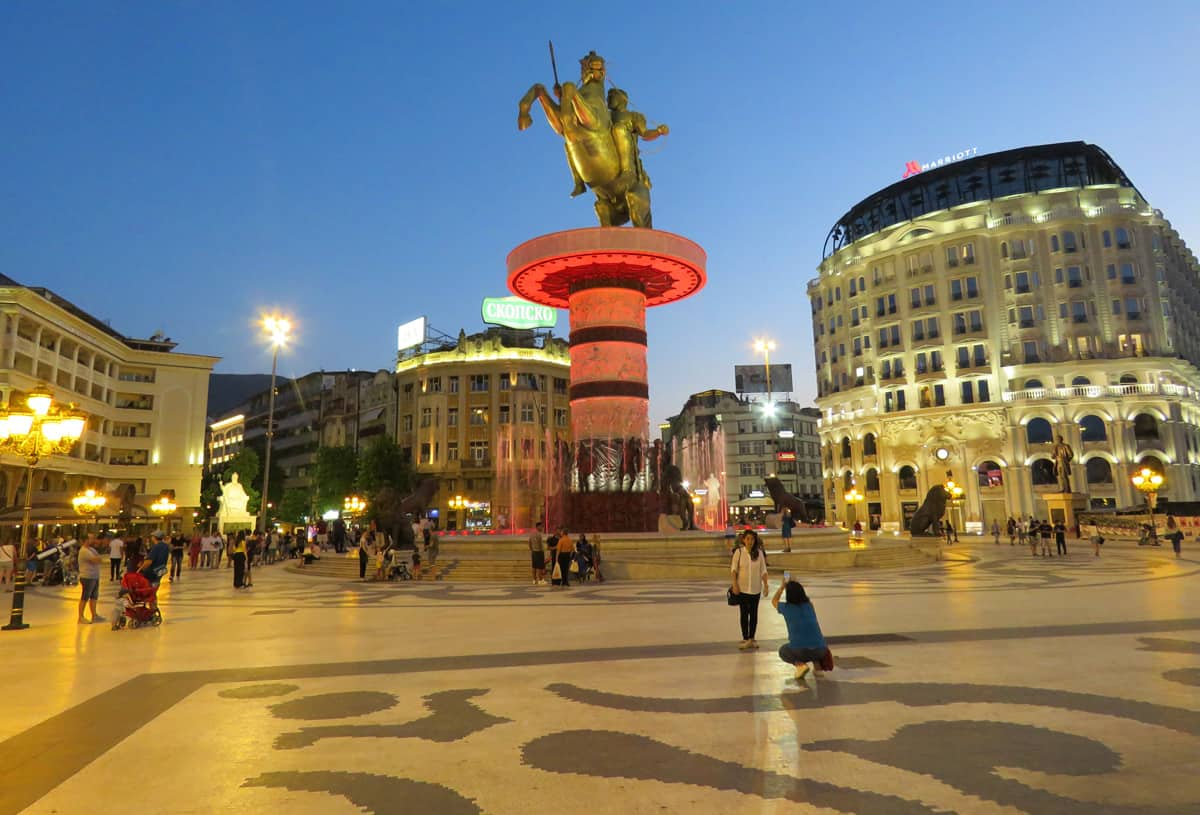 Skopje. Comparing and rating our favorite Balkan capitals