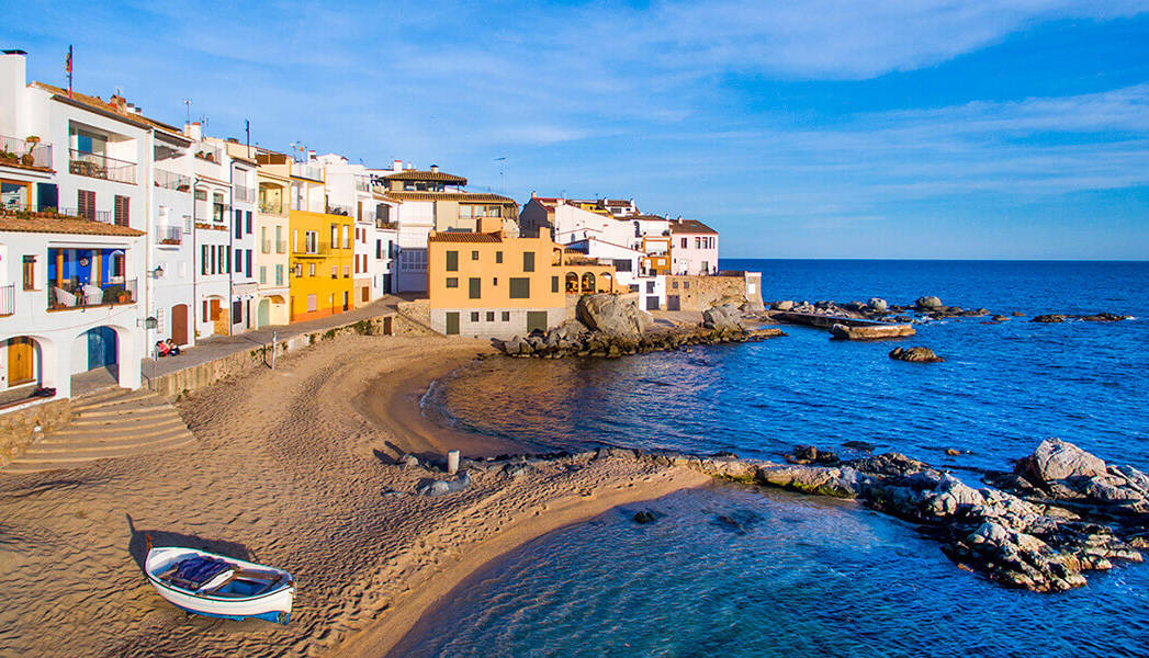 Tamariu, the prettiest town on the Costa Brava